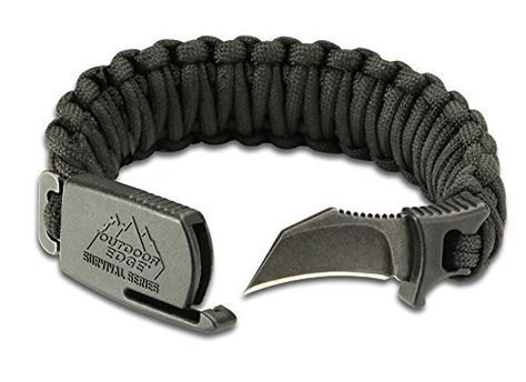 Amazon Com Outdoor Edge Pck 80c Para Claw Paracord Knife