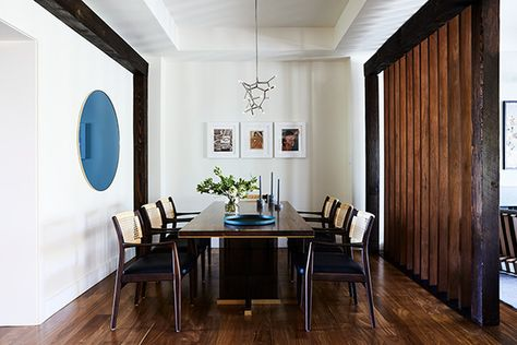 Elevated Dining - This Modern Masculine S.F. Reno Has An Eclectic Edge - Photos