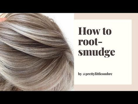 Apr 2020 - Are your root smudges leaving something to be desired? These root smudging tips and formulas will help you give your clients the look they crave. Root Smudge Blonde, Shadow Root Blonde, Blonde Hair At Home, At Home Hair Color, Diy Hair Colour, Blonde Hair Toner, Hair Color Streaks, Hair Color Highlights, Redken Hair Color