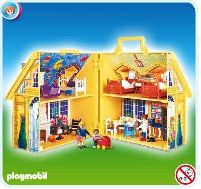 Playmobil Set 5763 My Take Along Doll House Klickypedia Playmobil Playmobil Sets Doll House