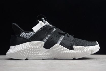 Men and Women's adidas Prophere Climacool Black White Shoes