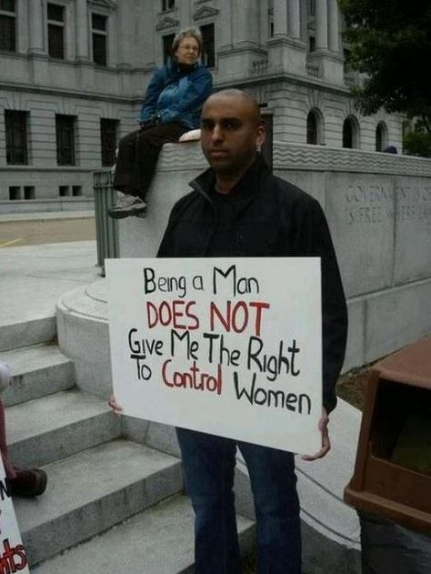 Feminism Protest Signs