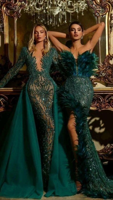 Emerald Gowns