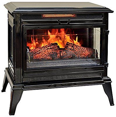 Comfort Smart Jackson Infrared Electric Fireplace Stove Heater Cream Cs 25 Portable Electric Fireplace Best Electric Fireplace Electric Fireplace
