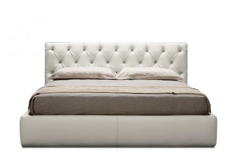 Letto King Size.Letto King Size In Pelle Tribeca Berto Outlet In 2020