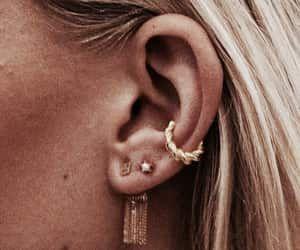 18K Gold Filled Women Flower White Topaz Earrings Ear Hoop Vogue Swirl zircon