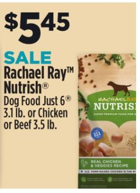 Rachael Ray Dry Dog Food For 2 45 At The Dollar General Through