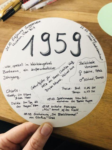 Fakten 1959 60 Geburtstag Ideen Hochzeitsgeschenke Ideen