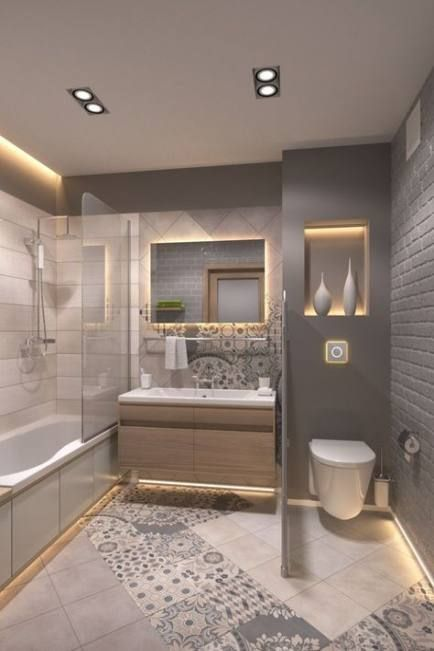 25 Ideas For Country Home Remodel Ideas Home Remodel New Bathroom Designs Bathroom Remodel Small Shower Bathroom Design Small