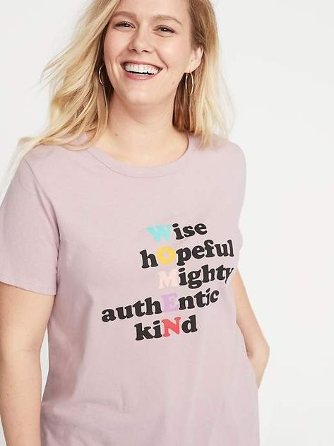 a3ae2634b Everywear Plus-Size Graphic Slub-Knit Tee in 2019 | Products | Plus size, Plus  size outfits, Old navy