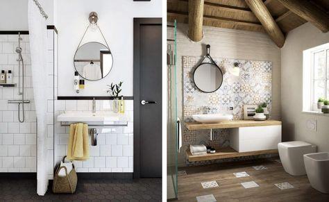 Espejos redondos para el cuarto de baño   Tendencias de baño ...