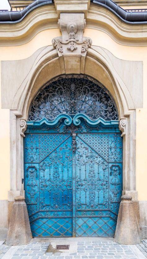 door... Wroclaw, Poland