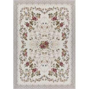 Alle Teppiche Florales Zum Verlieben Wayfair De Teppich Beige Teppich Blumenmotiv