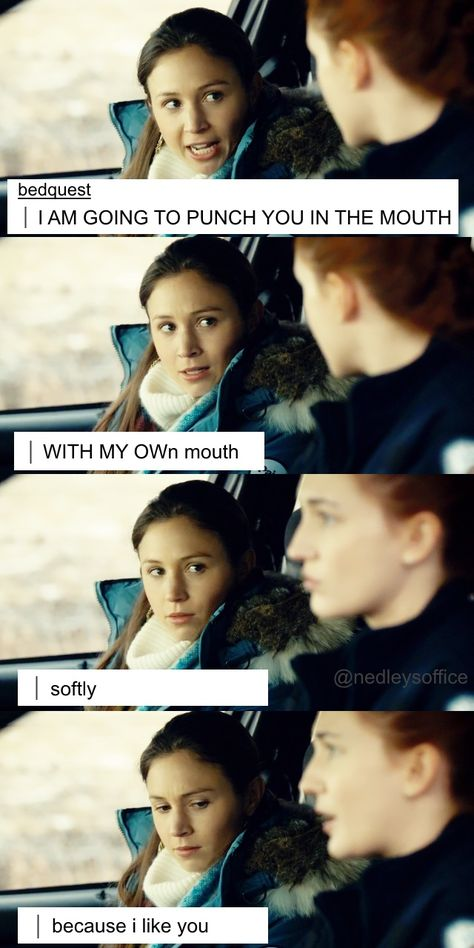 Haught Like Me — Subtext headcanon accepted. ;)  (from)