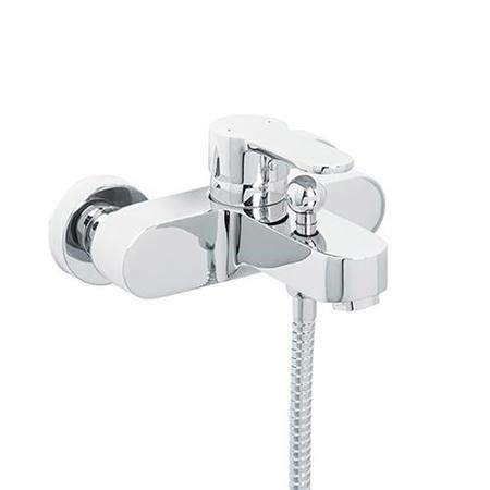 The Focus Wall Mounted Bath Shower Mixer Will Provide The Contemporary Style To Meet The Design Criteria O Bath Shower Mixer Shower Bath Bath Shower Mixer Taps