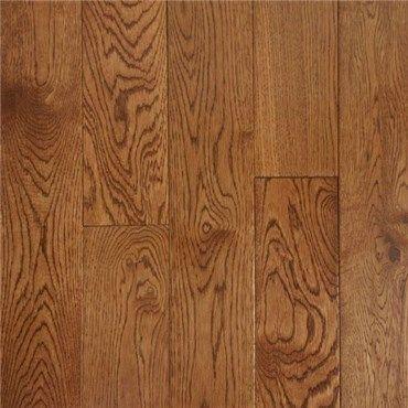 2 1 4 X 3 4 Oak Warm Walnut Prefinished Solid Hurst Hardwoods In 2020 Solid Oak Floors Flooring Hardwood Floors