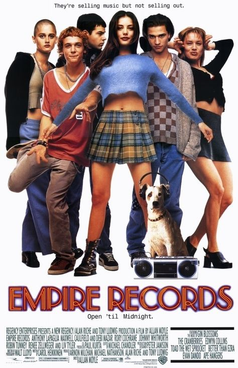 """Released in 1995, Empire Records combined a record shop, mini-kilts and an amazing soundtrack to create the ultimate teen movie. And here's why it ruled. 