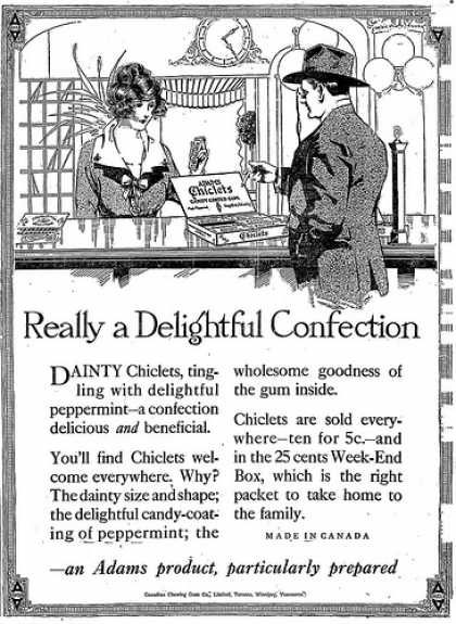 Vintage Candy Advertisements of the 1910s (Page 2)