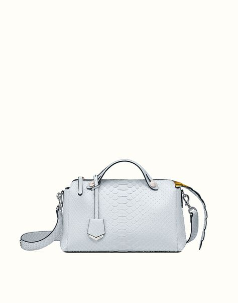 6f72cd22196 FENDI | BY THE WAY small Boston bag in python | Paper or Plastic ...