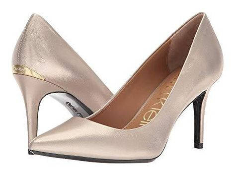Shop Calvin Klein Gayle Pump, Blush Gold from 350 stores, starting at $99. Similar ones also available. On SALE now! Product Information
