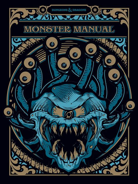 Dungeons Dragons 5e Monster Manual Gift Set Limited Alternate Cover D D 5e Dungeons And Dragons Art Dungeons And Dragons Dungeons And Dragons 5