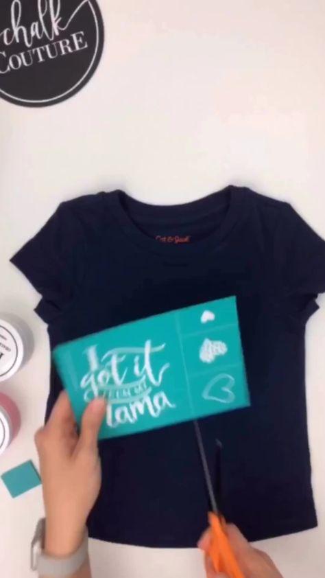 DIY silkscreen shirts