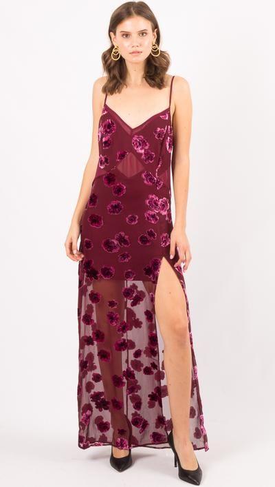 Sophie Velvet Floral Maxi Dress By For Love And Lemons Dresses Floral Maxi Dress Clothes