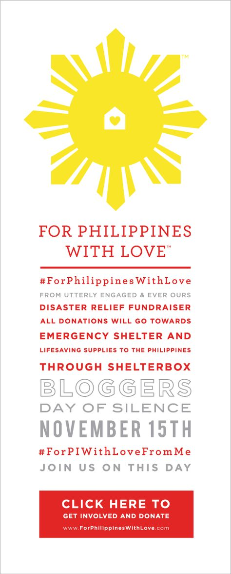 For Philippines With Love /