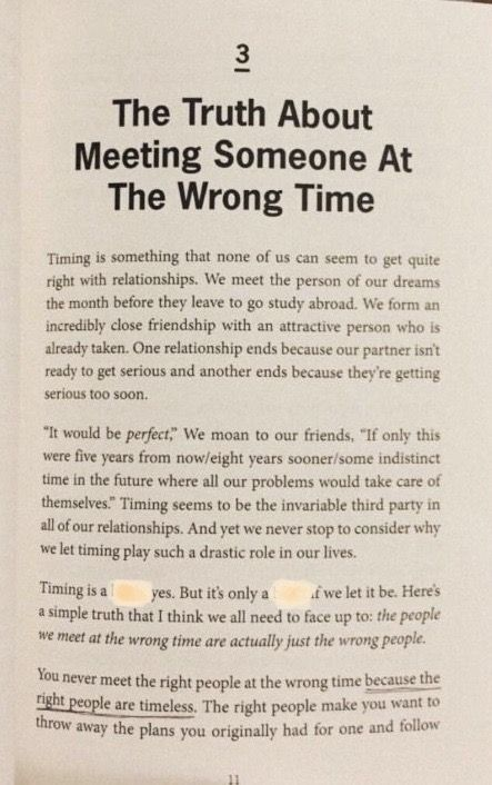 What if you meet your soulmate at the wrong time