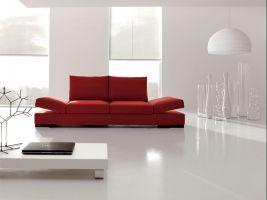 cool Design moderni per la decorazione del salotto con divani in ...