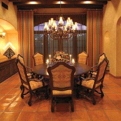 terra cotta tiles tuscan dining room decorations pinterest tuscan dining rooms terra cotta and room - Terra Cotta Tile Dining Room Decorating