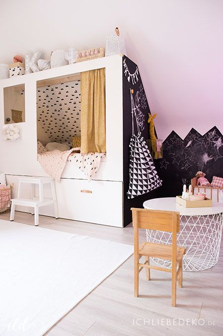 21 Cute Bedroom Ideas Girls That Will Make A Beautiful Dream Pandriva Diy Bunk Bed Bed Bunk Beds For Girls Room