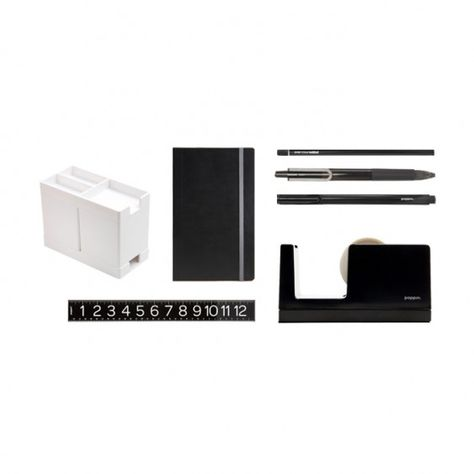 black office supplies