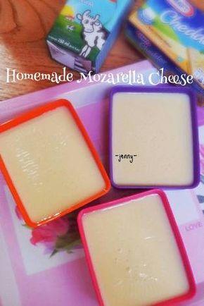 Resep Homemade Mozarella Cheese Oleh Jenny Resep Makanan Beku Resep Resep Kue Mangkok