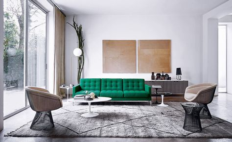 Warren Platner lounge chair Home stuff Pinterest Warren - designer couchtisch tiefen see