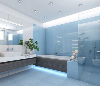 Bagno Ceramico Arredo Bagno Pavimenti Rivestimenti Saune Box Doccia Idee Bagno Blu Design Del Bagno Bagni Moderni