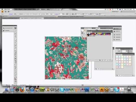 ▶ Illustrator Tutorial- How to Colour Your Fashion Designs - YouTube