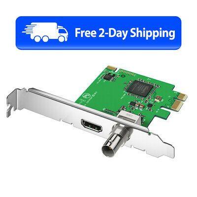 Ebay Sponsored Blackmagic Design Decklink Mini Recorder New Free 2 Day Shipping In 2020 Blackmagic Design Monitor Mini