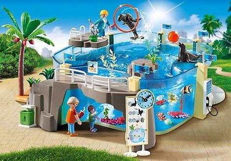 Playmobil Large Zoo Set - Playmobil - Toys  - playmobil badezimmer 4285