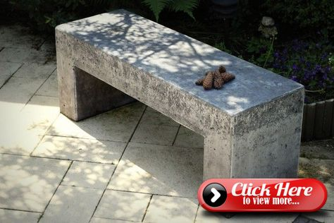 Learn How To Build Your Own Concrete Garden Bench Concrete
