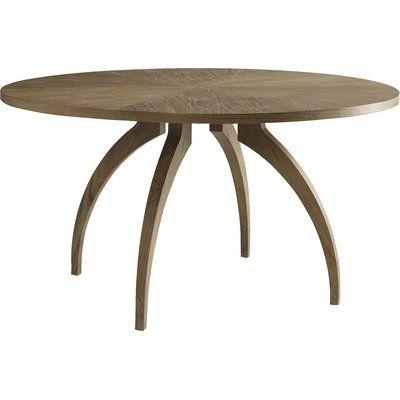 Brownstone Furniture Atherton Dining Table Finish Cerused Teak