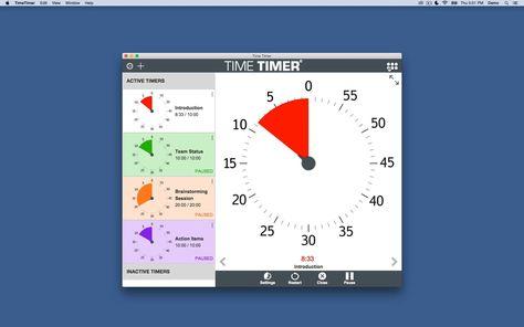NEW!  Time Timer Desktop App
