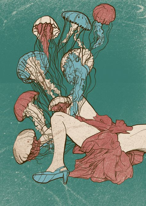jellyfish vagina explosion