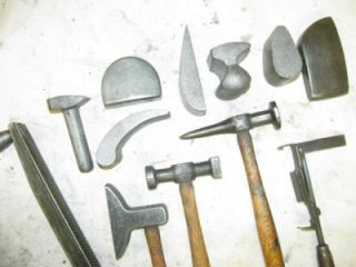 Nice Vintage Set Abc Auto Body Metal Shaping Hammers Shop Dolly Dollies Tools Hammers Metal Shaping Auto Body