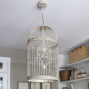 Bird Cage Chandelier French Country Farmhouse Birdcage
