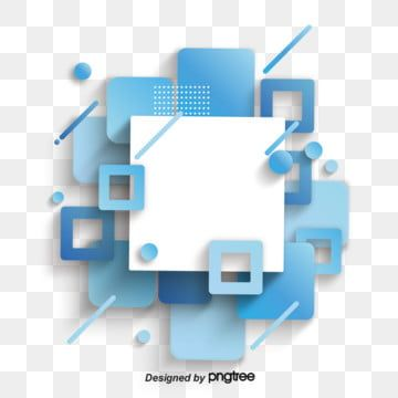Blue Abstract Business Square Geometric Blue Clipart Abstract Blue Decoration Png And Vector With Transparent Background For Free Download Geometric Background Background Design Vector Blue Abstract