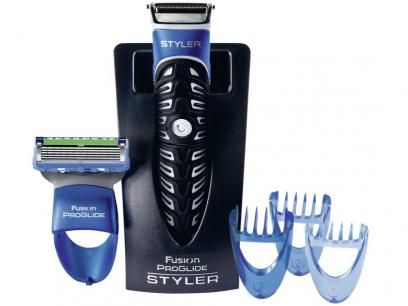 Barbeador Fusion Proglide Styler 3 Em 1 Gillette Com As Melhores