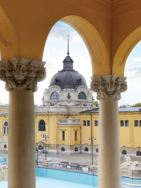 Budapest can arguably be called the city of spas, and the outdoor medicinal Szechenyi Bath and Spa is the city's ultimate wellness experience.
