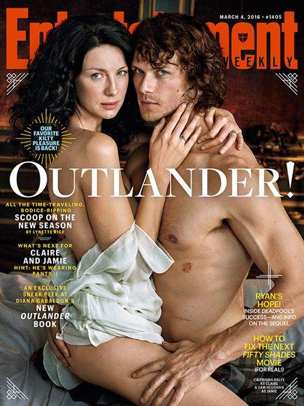 Outlander: Sam Heughan and Caitriona Balfe Address Dating Rumors