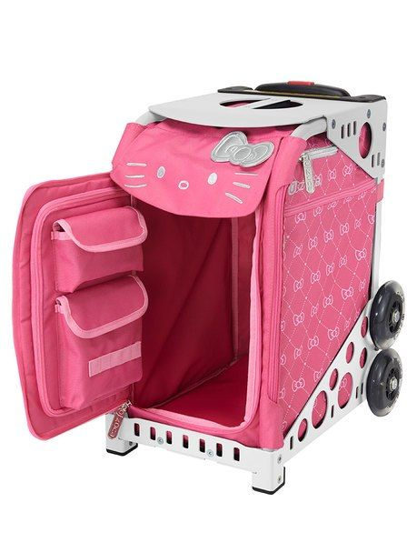 7883bdb84 Zuca Sport Bag - Hello Kitty, Pink Luxe | Professional Case for ...